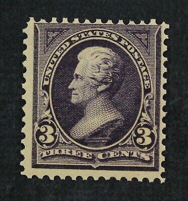 CKStamps: US Stamps Collection Scott#268 3c Jackson Mint NH OG CV$115