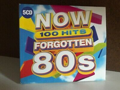 Now Thats What I Call FORGOTTEN 80s Music (2019) 5 CD Box Set (100 Songs)