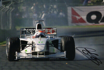 """F1 Driver Formula One Johnny Herbert Hand Signed Photo Autograph  12x8"""" AE"""