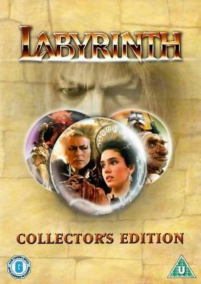 Laberinto (DVD / Edición de Coleccionista/Jennifer Connelly / Jim Henson 1986