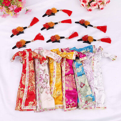 Doll handmade unique dress clothes for chinese traditional dress cheongsam  ES