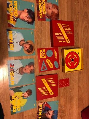 ATEEZ: TREASURE EP.3 Album,Illusion version K-POP No Member And Group Photocard