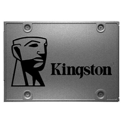 "Kingston Fast File Transfer A400 SSD SATA 3 2.5"" Solid State Drive 120GB"