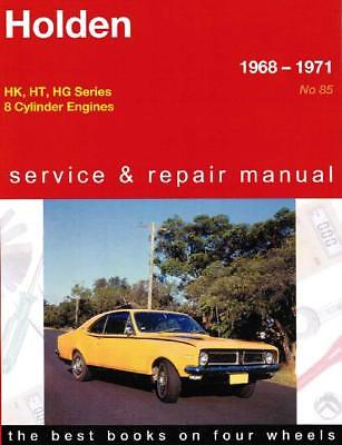 Holden HK / HT / HG Series (8 cyl) 1968 - 1971 Gregorys Service & Repair Manual