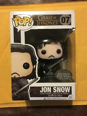Funko Pop! Game Of Thrones Jon Snow Beyond The Wall Exclusive