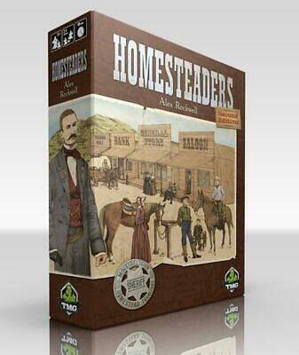 Tasty Minstrel Boardgame Homesteaders (2nd Edition) Box NM