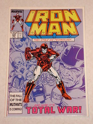 Ironman #225 Vol1 Scarce Ds Armour Wars Story Begins December 1987