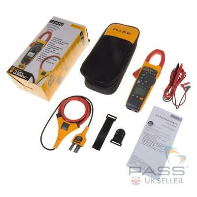 *New* Fluke 376 FC TRMS Clamp Meter wth Accessories / Genuine UK Stock