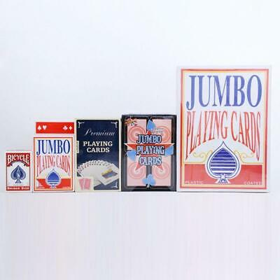 Huge Big Giant Jumbo Playing Cards Deck King Poker Family Party Play Game Funny