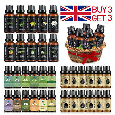 100% Pure Natural Essential Oil Aromatherapy Therapeutic Grade Essential Oils UK