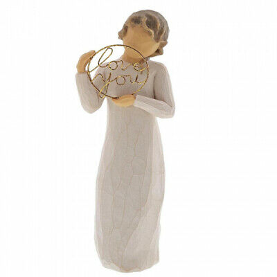 NEW Love You Figurine Ornament - Willow Tree Collectable Susan Lordi