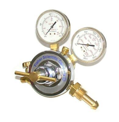 New Fisher Scientific  10-572-H  FS-50 Gas Regulator Gauge Assembly