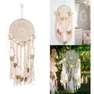 Large Handmade Boho Dream Catcher Nursery Wall Hanging DreamCatcher Big Craft