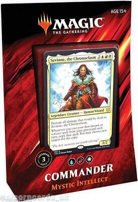 MTG - Magic: the Gathering Commander 2019 Deck : Mystic Intellect :: New & Seale