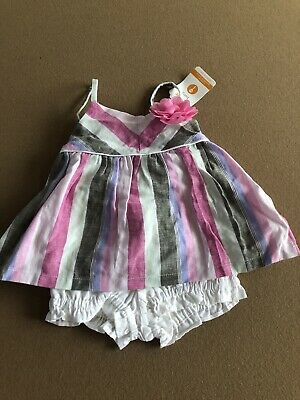 Gymboree baby Girl Two Piece Outfit Set - Tropical Blossom