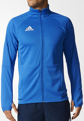 ADIDAS TIRO 17 Mens Training Top Jacket Jumper Gym Football