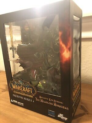 DC Unlimited World of Warcraft - The Headless Horseman - Premium Series 4