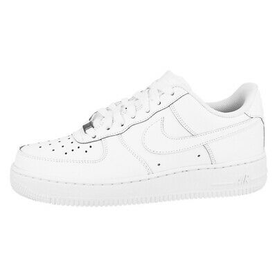 NIKE AIR FORCE 1 Low GS Schuhe Sneaker Unisex Retro Sneakers white 314192 117