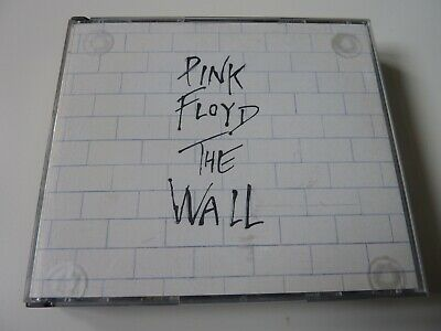PINK FLOYD - The Wall - Rare UK Harvest Early CD Issue + Foam Inserts - EX