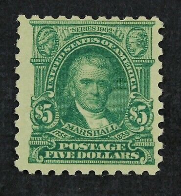 CKStamps: US Stamps Collection Scott#480 $5 Mint LH OG CV$170