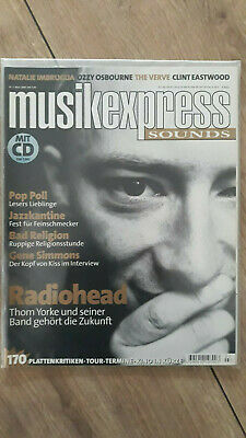Musikexpress 3/1998 Gene Simmons,Ozzy Osbourne,C. Eastwood,Pop Poll,Bad Religion