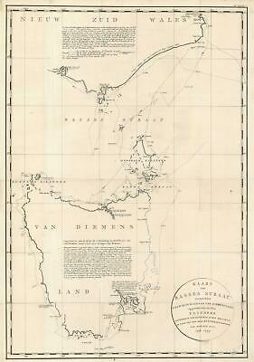 1800 Flinders and Arrowsmith Map of Tasmania