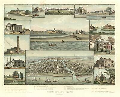 1893 Kurz and Allison View of Chicago