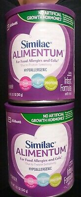 2PK Similac Alimentum Hypoallergenic Infant Formula for Food Allergies and Colic