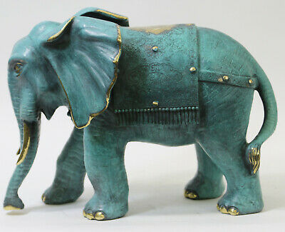 100% Solid Bronze Collector Edition Museum Quality Classic Elephant Artwork Gift