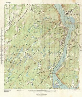 1939 Topographical Engineers Map of West Point and Vicinity, New York