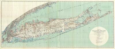 1904 U.S. Geological Survey of Long Island, New York