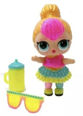 LOL Surprise Neon Qt Cutie Glam Glitter Series Doll Ball Big Sister AuthenticMGA