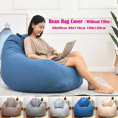 Stupendous Kids Adults Lounger Large Bean Bag Indoor Chairs Sofa Cover Ibusinesslaw Wood Chair Design Ideas Ibusinesslaworg