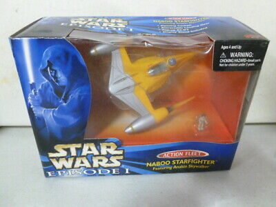1999 Star Wars Episode I Action Fleet Naboo Starfighter