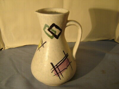 Vintage Mid Century Modern West Germany Pitcher