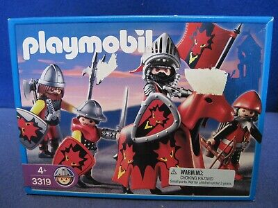 Playmobil 3319 Dragon Knights (2003) NEW in Box Factory Sealed Made in Germany
