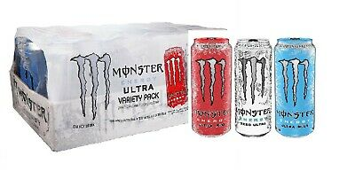Monster Energy Ultra Variety Pack - 16oz - 24pk ( zero sugar )