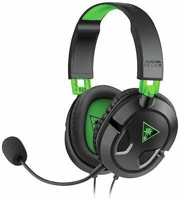 Turtle Beach Recon 50X Wired Gaming Headset for Xbox One/PS4 - Black.