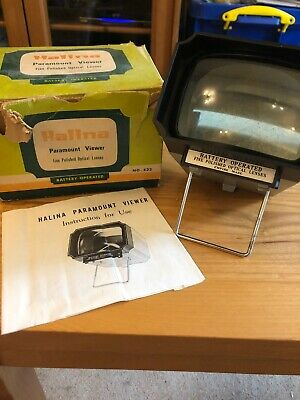 Halina Paramount Slide Viewer (No. 532) (Tatty Box)