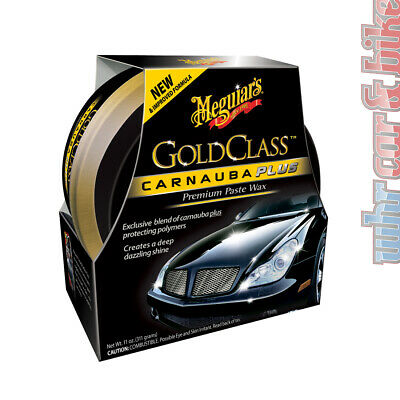 Meguiars Gold Class Carnauba Plus Paste Wax Hartwachs inkl. Applicator Pad