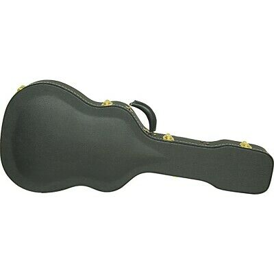 Silver Creek Vintage Archtop 000 Auditorium Acoustic Guitar Case Black