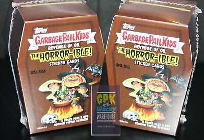 2019 Garbage Pail Kids Revenge Of Oh The Horror-Ible (2) Box Blaster Lot