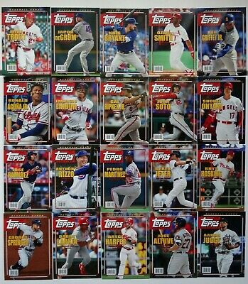 2019 Topps Archives Topps Magazine Baseball Cards Complete Your Set U Pick 1-20