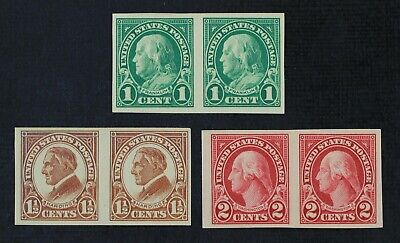 CKStamps: US Stamps Collection Scott#575 576 577 Mint H OG