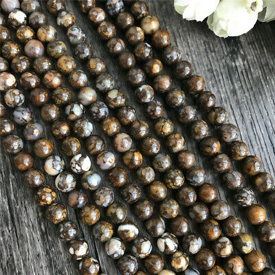 6mm Natural Round Opal Loose Beads Diy Accessories Gemstone Charm Stone Shining