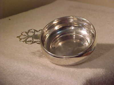 Antique Sterling Silver Porringer,  Gh French.  95.5 Grams
