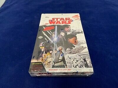 Star Wars Trading Cards 2017 The Last Jedi Factory Sealed in Box Topps