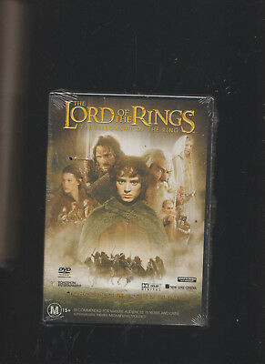 NEW/SEALED:J R R Tolkien/Lord Of The Rings The Fellowship Of The Ring 2 DVD Set