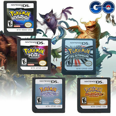 Pokemon Platinum + Pearl + Diamond Game Card For Nintendo 3DS NDSi NDS Lite
