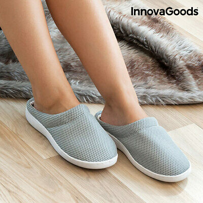 InnovaGoods Comfort Bamboo Gelslippers L